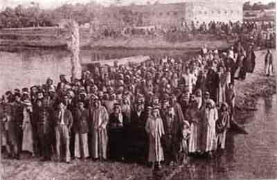 من اولى المظاهرات السلمية للعراقيين اوائل القرن العشرين