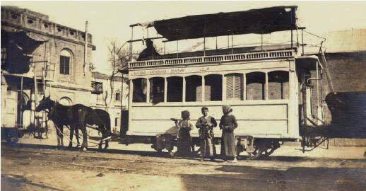 قررالوالي العثماني مدحت باشا تأسيس شركة مساهمة تقوم بانشاء سكة ترامواي بين بغداد والكاظمية سنة 1889