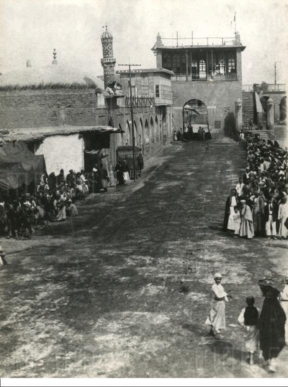 بغداد - الباب المعظم .. آخر يوم من حكم الدولة العثمانية عام 1917
